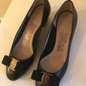 Salvatore Ferragamo Leather Ballet Shoes